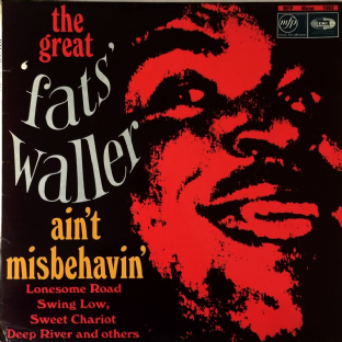 Fats Waller - Ain't Misbehavin' (LP) (G/VG)